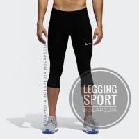 Celana Legging Training 3/4 Nike Fitness Gym Diving Training Kiper