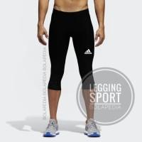 Celana Legging Training 3/4 Adidas Fitness Gym Diving Training Kiper