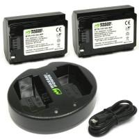 Wasabi Battery KIT for Sony NP-FZ100 a9 a7 III a7R III A7iii A7Riii