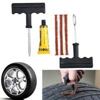 Tire Repair Tool Kit Alat Tambal Ban Mobil Sepeda Motor Tubeless Set