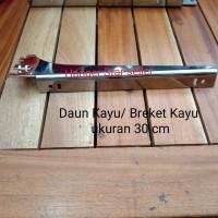 Daun Kayu/ Breket Kayu ukuran 30 cm