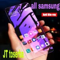 tempered glass samsung j2 core A6 2018 anti blue light blu Ray