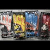 Sarung tangan kiper tulang kappa penalty tebal import sale