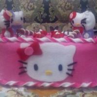 Kotak Tisu Cantik Hello Kitty Series