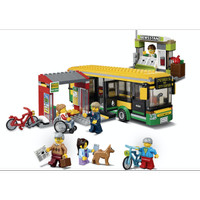 02078 Lego City Town Bus Station