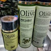 paket Olive Shampoo Conditioner Hair Tonik Korea Original