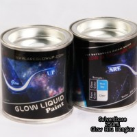 Cat Fosfor Glow Biru Dongker NEW FORMULA PU - Glow in the Dark