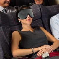 PANACHE 3D Sleeping Mask, Penutup Pelindung Mata saat Tidur dan Travel