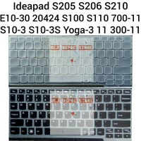 Keyboard Protector Lenovo Ideapad S10-3 S100 S110 S205 E10-30 Yoga-3