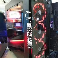 PC CPU RAKITAN GAMING DESIGN CODING RYZEN 7 2700 feat GTX 1060 6GB