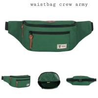 WAIST BAG TERBARU DISTRO / Tas Selempang Original Premium - CREW ARMY