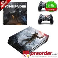 Rise Of The Tomb Raider PS4 Pro Kulit Stiker untuk PlayStation 4