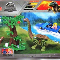 77050 Lego Dinosaurus Jurassic World Brachiosaur & Baby Veloceraptor