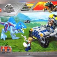 77051 Lego Dinosaurus Jurassic World Spinoraptor & Baby Veloceraptor