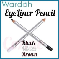 EYELINER PENSIL WARDAH PENCIL/ EYELINER PUTIH / EYELINER HITAM WARDAH