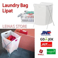 Laundry Bag Keranjang Cucian Baju / Tempat Baju kotor lipat