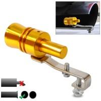 Fake Turbo Whistler Penyiul Knalpot Mobil Motor Pipe Sound Muffler