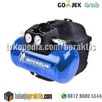 Michelin Kompresor Udara 1HP 6L Tanpa Oli - 1 HP 6 Liter Oil Less