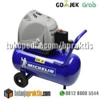 Michelin Kompresor Udara 2HP 24L Tanpa Oli - 2 HP 24 Liter Oil Less
