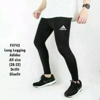Celana Baselayer Longpants Adidas Manset Training Gym Legging Renang