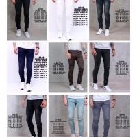Celana jeans skinny panjang pria premium
