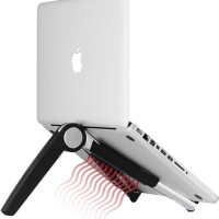Laptop Notebook IPAD Tablet Stand Portable Foldable Holder Dudukan