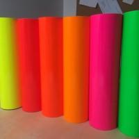 Murah Oracal 6510 Fluorescent Stiker Vinyl Stabilo Khusus Lembaran 5