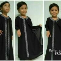 Limited gamis abaya anak S&M