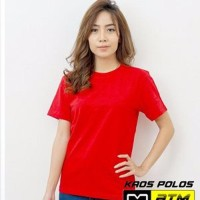 Diskon Kaos Polos O-neck Cotton Combed Dewasa Ce & Co Size S
