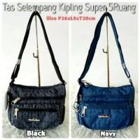 Dijual KP178 Tas Selempang Kipling Super 5Ruang