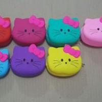 Limited Dompet Koin Silicon Hello Kitty