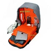 Tas Ransel Anti Maling Original Hazer HZ 0201 Backpack Daypack