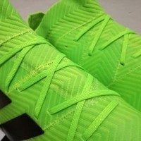 Sepatu Bola Soccer Adidas Nemeziz Messi 18 1 Electric Green FG