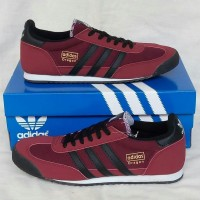 Sepatu Adidas Dragon Light Maroon Black