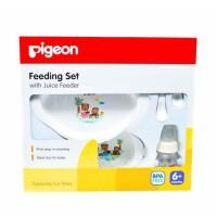Pigeon Feeding Set With Juice Feeder Paket Perlengkapan Makan
