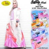 DL- SAFA DRESS / MAXI DRESS CANTIK / DRESS MUSLIM