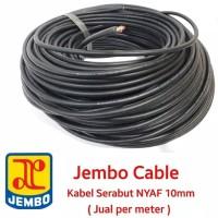 Kabel NYAF 10mm jembo meteran