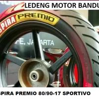 Premio 80/90-17 Sportivo Ban Tubeless Aspira Duo Massimo Motor Sport