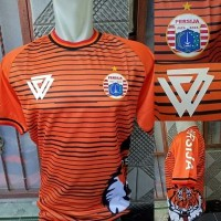 Jersey Persija Training Prematch Tiger Roar 2018/2019 Orange Grade Ori