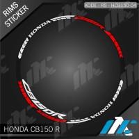 HCB150 04 - LIS VELG CB150R - STIKER LIST - STICKER VELG HONDA CB 150R