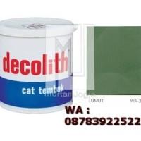 Cat Tembok Decolith Lumut