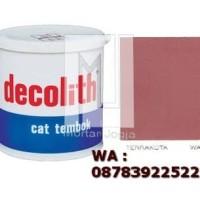 Cat Tembok Decolith Terrakota