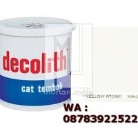 Cat Tembok Decolith Yellow Stone