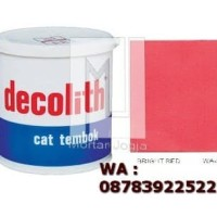 Cat Tembok Decolith Bright Red