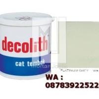 Cat Tembok Decolith Platinum Grey