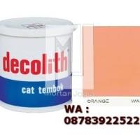 Cat Tembok Decolith Orange