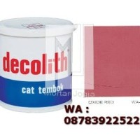 Cat Tembok Decolith Oxide red