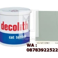 Cat Tembok Decolith Silver Grey