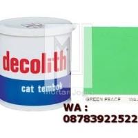 Cat Tembok Decolith Green Peace