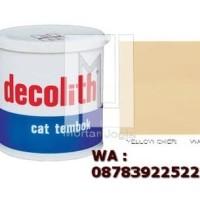 Cat Tembok Decolith Yellow Oker